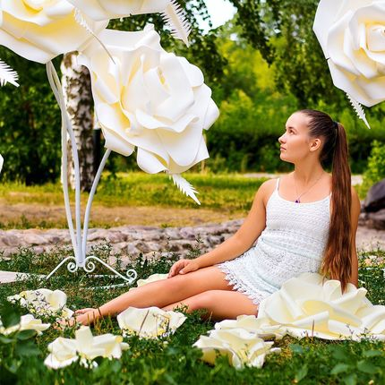 Ростовые розы в аренду