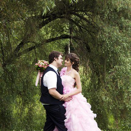 Букет невесты из роз + бутоньерка