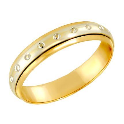 Обручальное кольцо с вращающейся вставкой