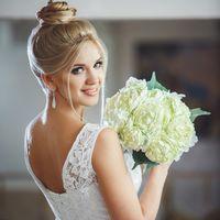 """Рекламная фотосессия в рамках проекта """"Свадебный образ 2015"""" специально для журнала Искусство Красоты."""