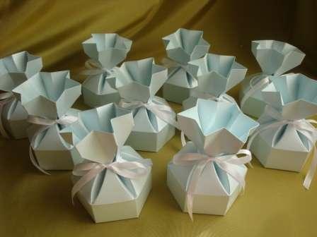 Коробочки в виде подарка. - фото 510341 Свадебные бонбоньерки в Краснодаре
