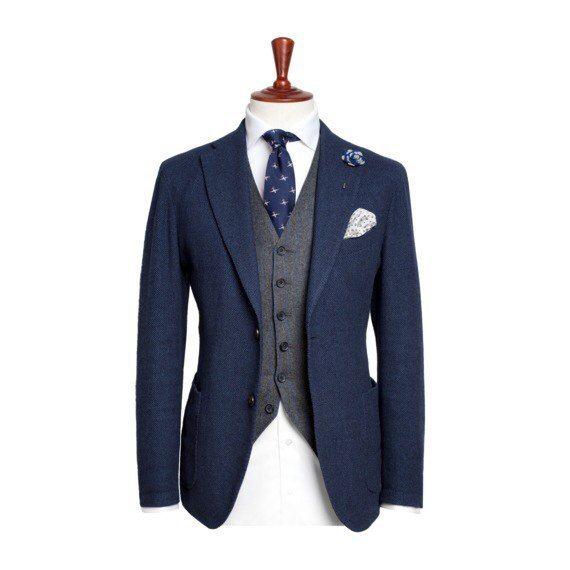 Фото 11509688 в коллекции Портфолио - Мужской свадебный костюм. Пошив на заказ.