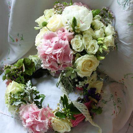 Букет + венок невесты