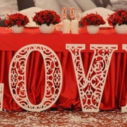 Ажурное слово Love