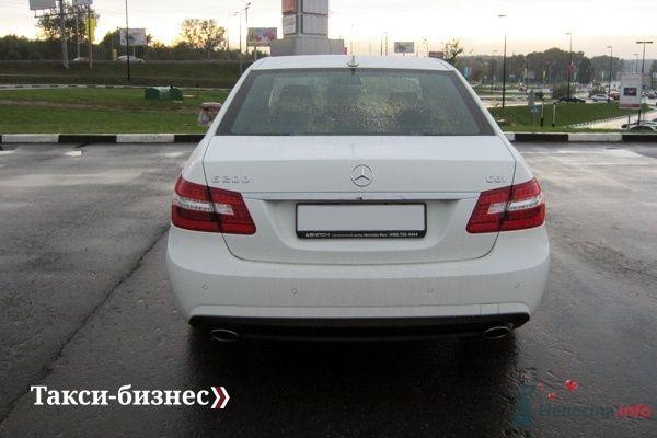 Mercedes E212 белый - фото 43416 Такси-бизнес - свадебный кортеж