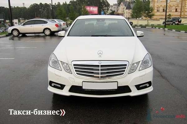 Mercedes E212 белый - фото 44865 Невеста01