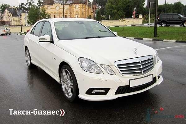 Mercedes E212 белый - фото 44866 Невеста01