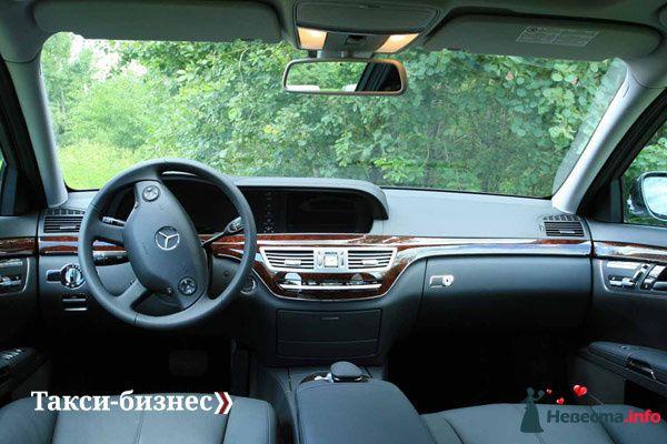 Такси Mercedes-Benz S-class - фото 83975 Невеста01