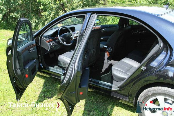 Такси Mercedes-Benz S-class - фото 83977 Невеста01
