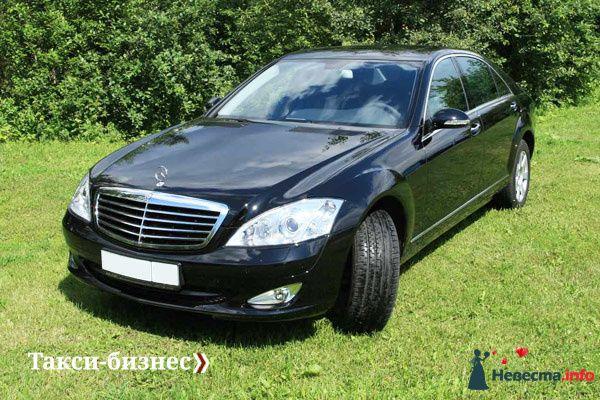 Такси Mercedes-Benz S-class - фото 83983 Невеста01