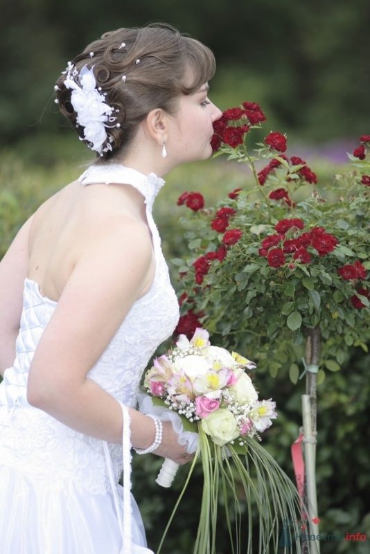 Свадебная прическа и свадебный макияж - фото 36583 Стилист-визажист Кандалова Елена