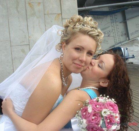 Свадебная прическа со стразами и фатой, свадебный макияж - фото 45653 Стилист-визажист Кандалова Елена