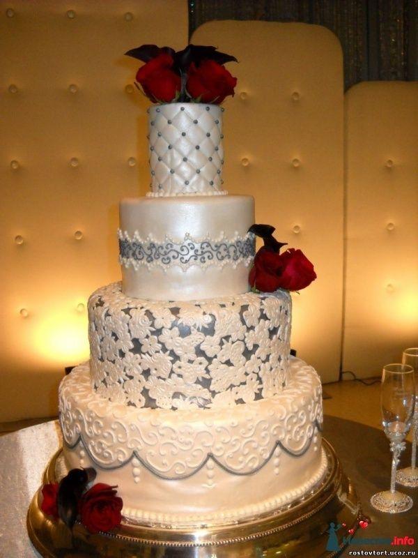 Свадебные торты фото ростов