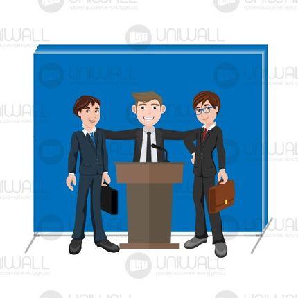 Презентационный стенд бренд волл