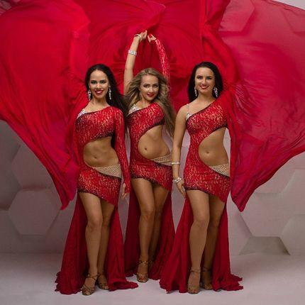 Шоу-балет Exotic Art - 2 номера, 3 девушки