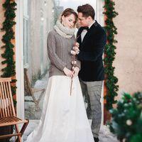Жених и невеста, зимняя фотосессия