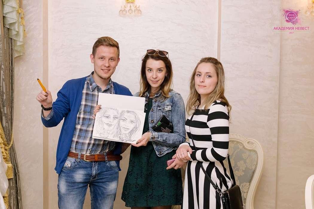 Фото 18017010 в коллекции Рисую Шаржи на праздничных мероприятиях!!! - Алексей Магомедов - художник-шаржист