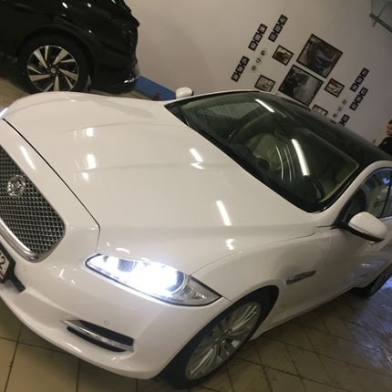 Jaguar XJ Long Platinum в аренду
