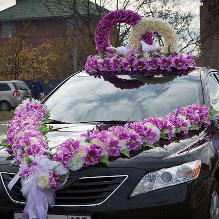 """Прокат украшений на машину """"совет да любовь"""""""