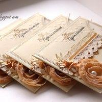 Фото 2350266 в коллекции Пригласительные - Круглова Маргарита - свадебные аксессуары