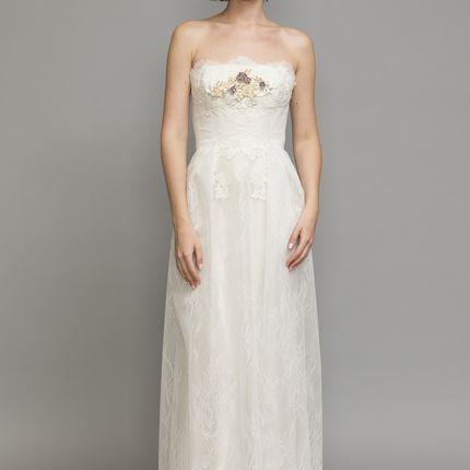 Свадебное платье David Fielden, модель 8553
