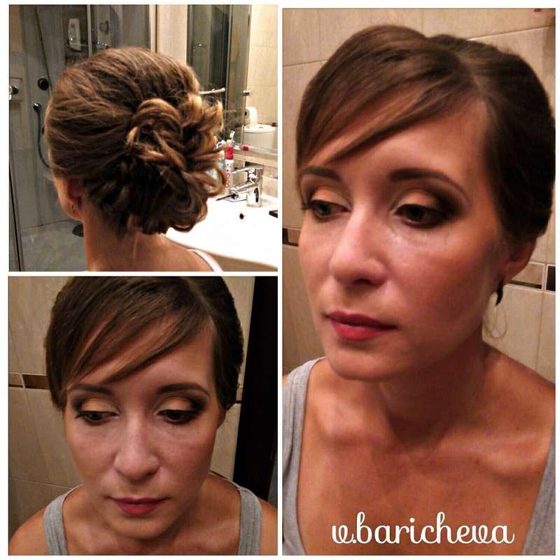 Фото 11873310 в коллекции Профессиональный макияж и причёски - Стилист-визажист Виктория Барычева