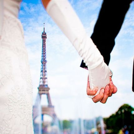 Проведение выездной церемонии на французском языке