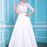 Оригинальный  свадебный  наряд.Модный  тренд.