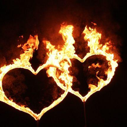 """Номер """"Два огненных сердца"""""""