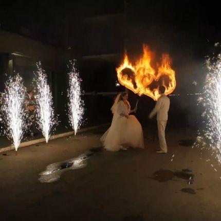 Два огненных сердца - шоу