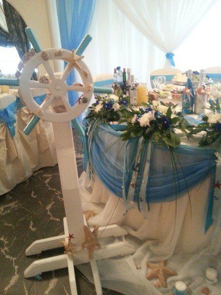Фото 12015602 в коллекции Морская свадьба!!! - Евгения Красавина - оформление и декор
