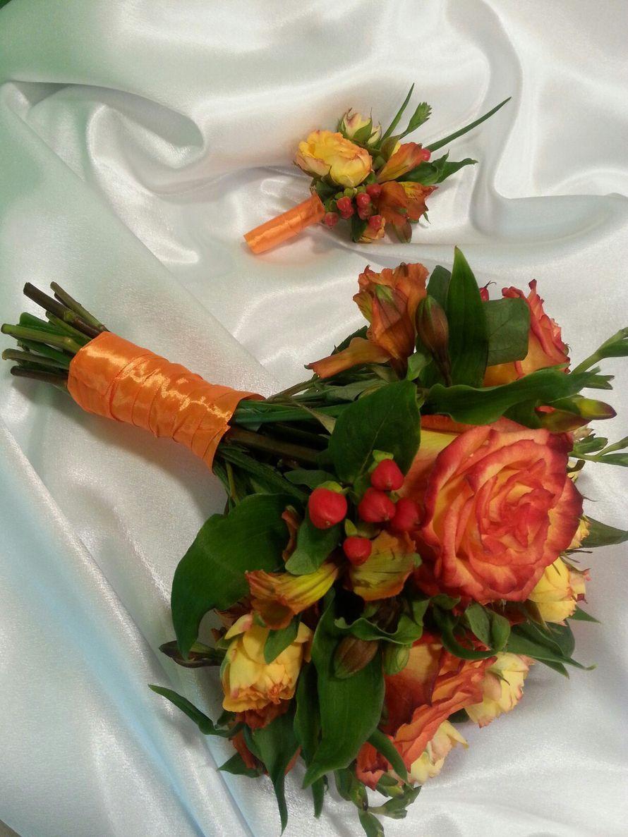 яркий осенний букет невесты - фото 12055784 Свадебное агентство Lily wedding