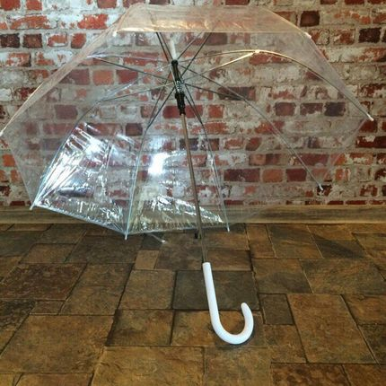 Аренда прозрачных зонтов для свадьбы, цена за 1 шт