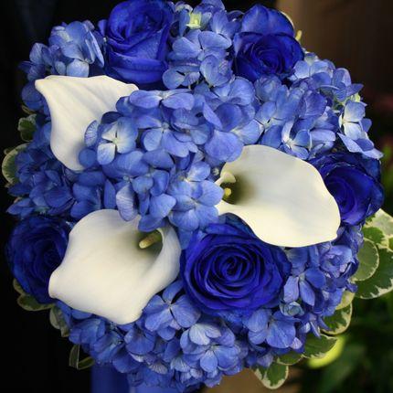 """Букет невесты """"Синяя птица"""""""