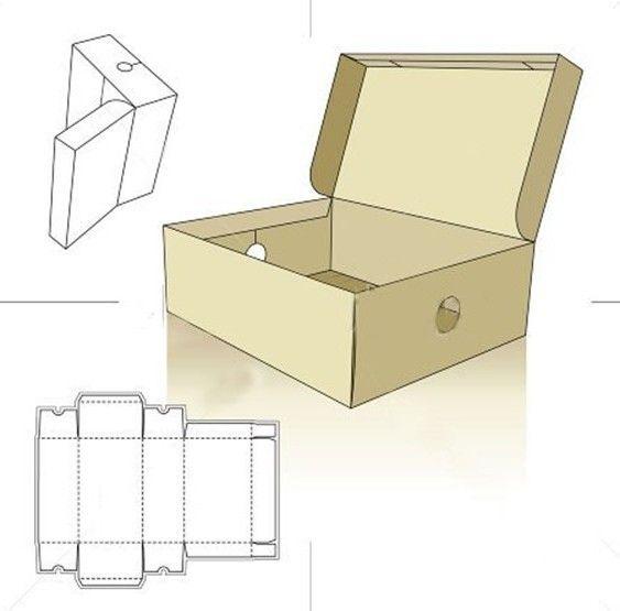 Шкатулка с крышкой из картона своими руками