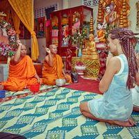 Свадебная церемония в Камбодже