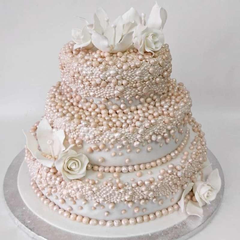 Фото 17738774 в коллекции Свадебные торты нового сезона - Мастерская тортов Ольги Ермак