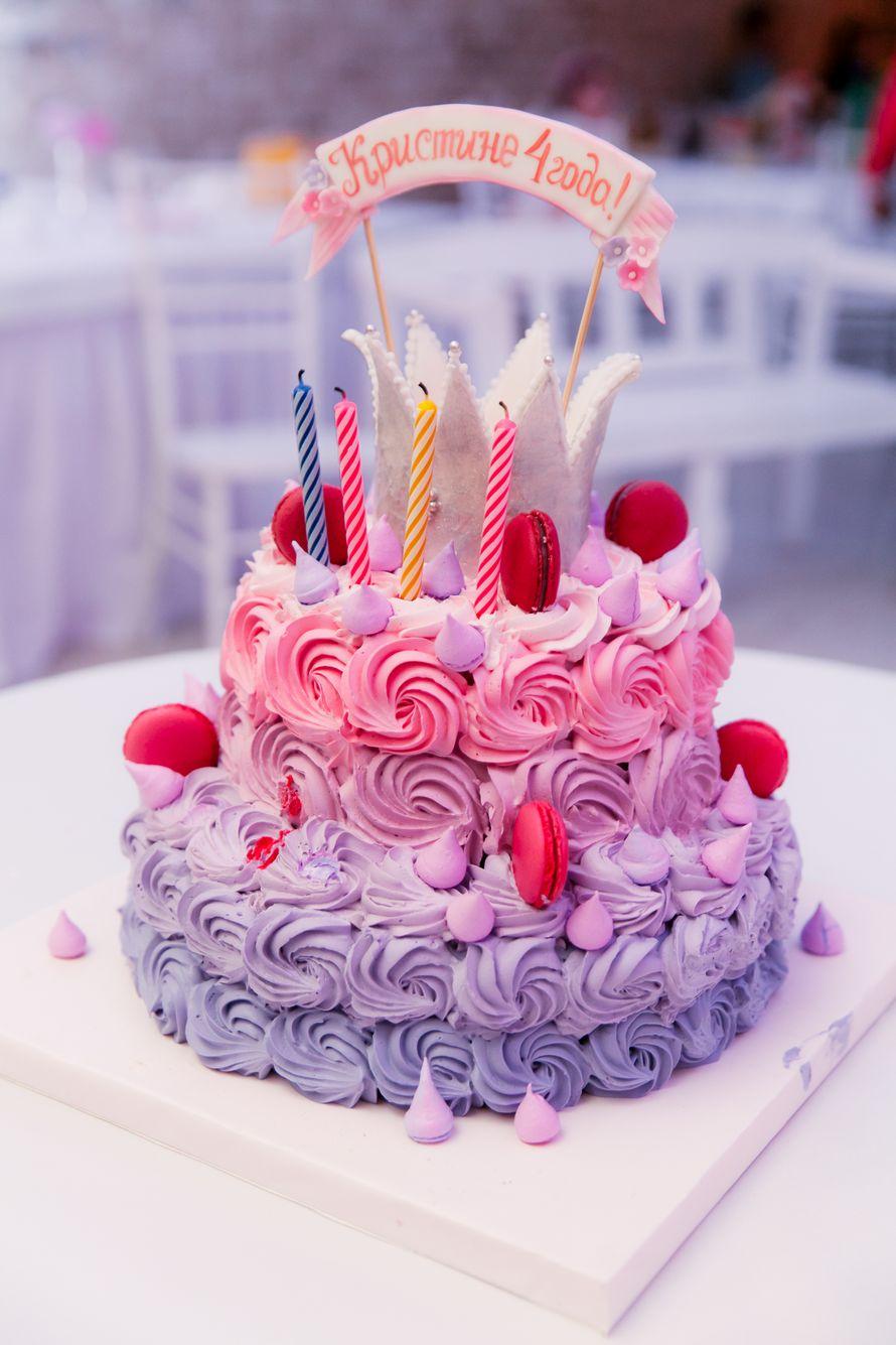 """Детский торт на День Рождения ,для маленькой принцессы. - фото 13956240 Кондитерская """"Тирамису"""""""