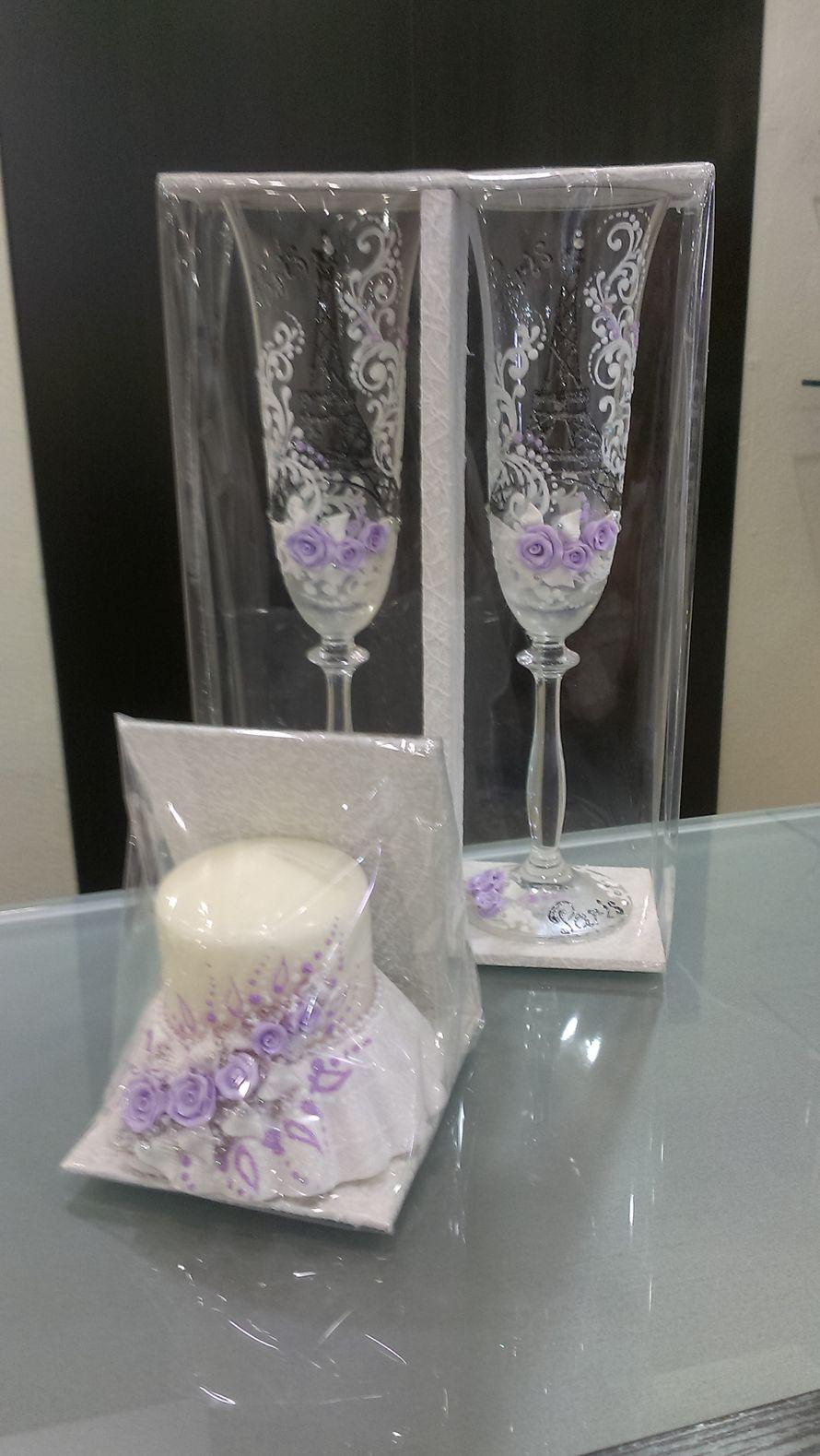 """Фото 2227920 в коллекции Свадебные бокалы,семейные очаги и банки - Магазин-салон """"Свадебный вальс"""""""