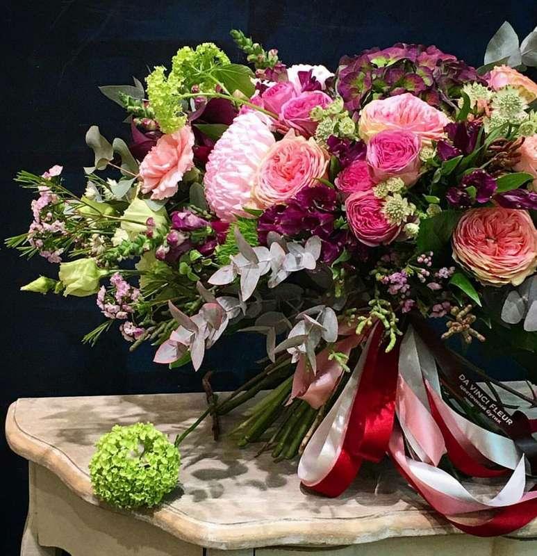 Необычные букеты цветов большие фото