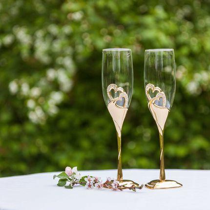 Свадебные бокалы SVg 002