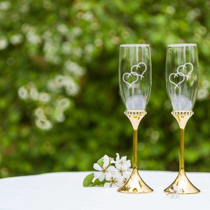 Свадебные бокалы, арт. SVg 5