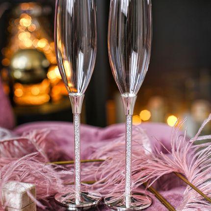 Свадебные бокалы Австрийские кристаллы