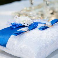 Подушечка для колец на свадьбе Константина и Светланы