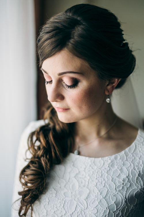 макияж Лизавета Мурашкина; фото Павла Тимошилова; платье от свадебного салона Тавифа