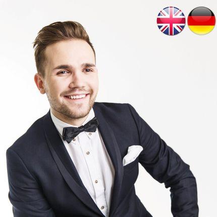 Проведение свадьбы на английском и немецком языках, 6 часов
