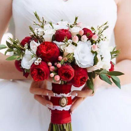 Авторские букеты невесты