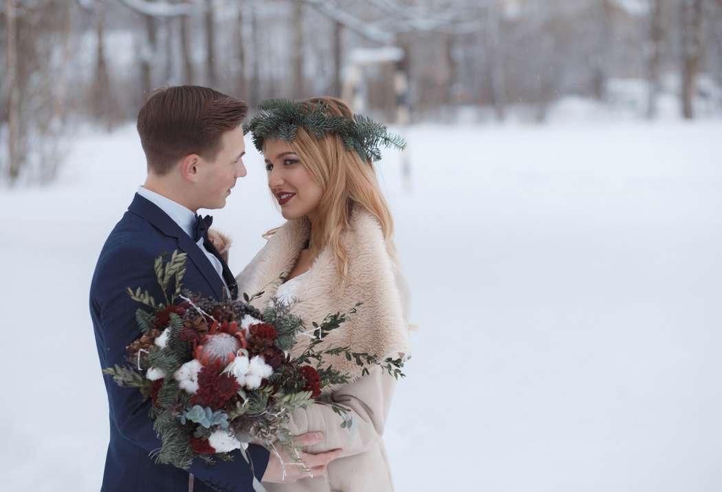 Фото 12719054 в коллекции Marsala Wedding 12/11/16 - Wood&love - студия флористики и декора