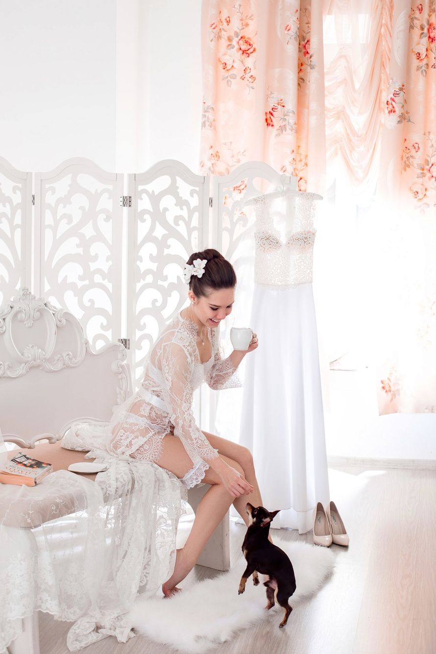 Прекрасное утро невесты... фотограф Анна Попова Заказ съемки вашей свадьбы 89851660401  - фото 12732620 Anna Popstudio - фотосъёмка