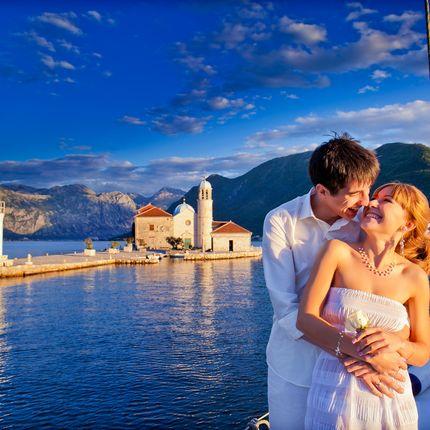 """Организация символической церемонии в Черногории - пакет """"Gold"""""""